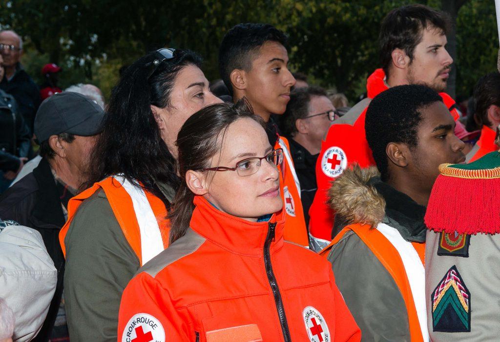 Photo de Frank Panié pour la Croix-Rouge française